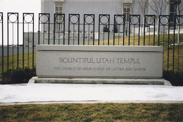 Bountiful Utah Temple 3
